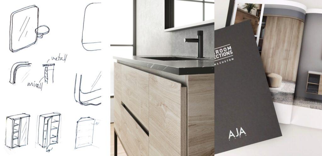 Proceso de diseño mobiliario de baño
